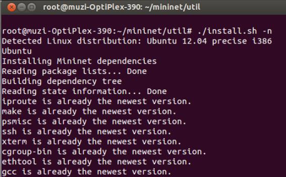 extension重新编译安装mininet code